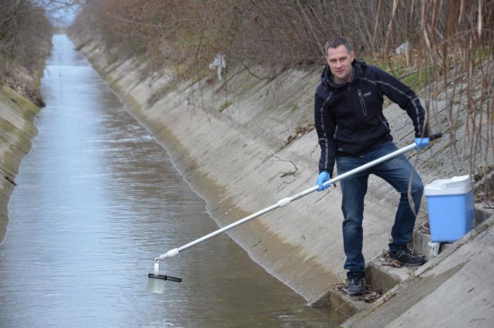 životné prostredie - odber vzoriek vody